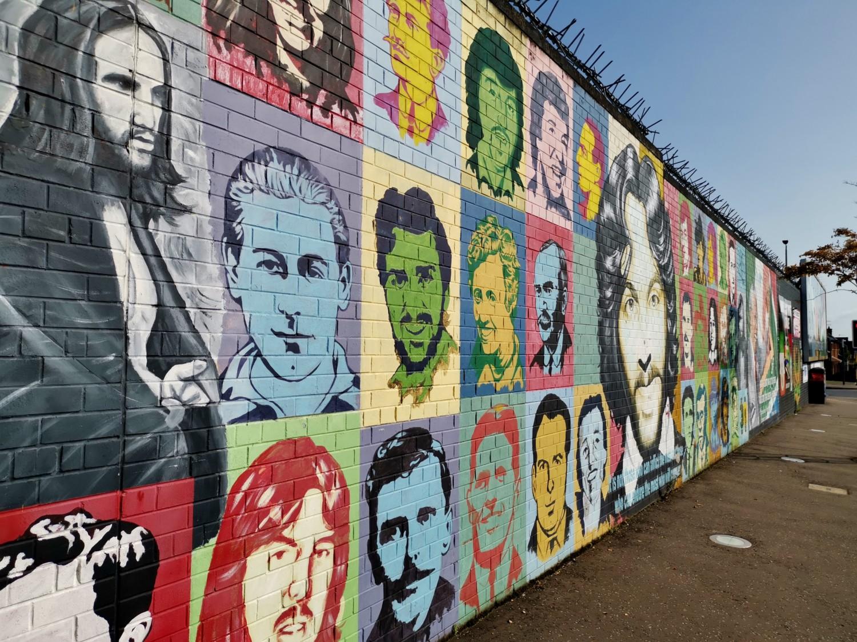 Murales nel Gaeltacht Quarter