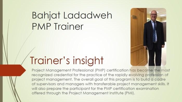 Project Management Professional - PMP 5