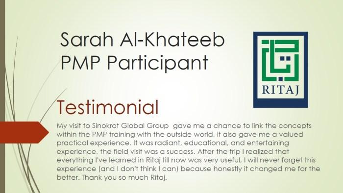 Project Management Professional - PMP 8