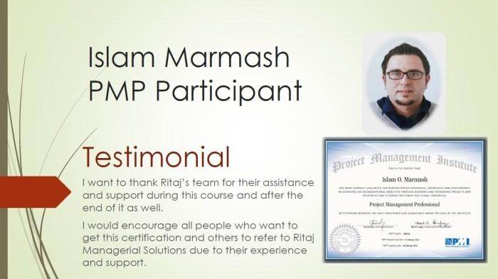 Project Management Professional - PMP 7