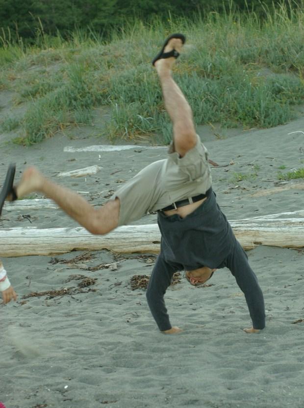 Cane cartwheeling