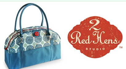 2 Red Hens Studio Coop Carry All Diaper Bag Retail Price 70 Custom Designed Highly Functional Bowling Style Bags