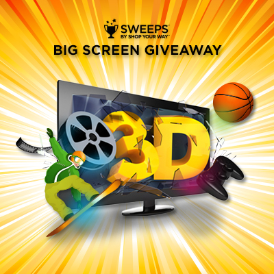 Shop Your Way HDTV Sweepstakes #SWEEPS #ad