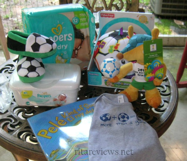 Pampers Futbol Prize Pack