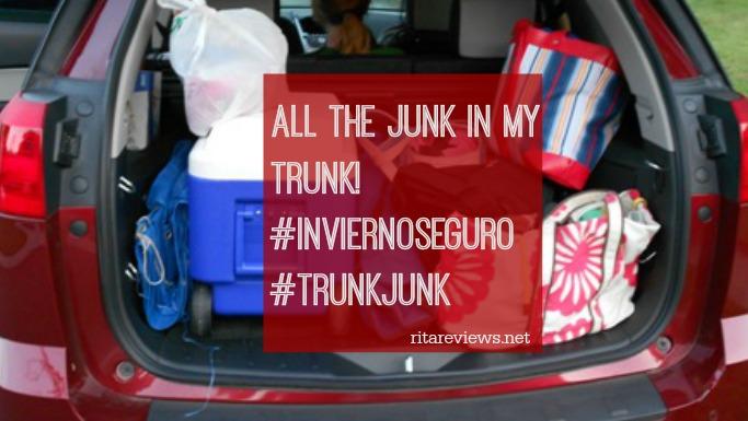 All the Junk in My Trunk! #InviernoSeguro #TrunkJunk #ad