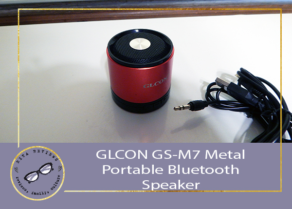 GLCON GS-M7 Metal Portable Bluetooth Speaker