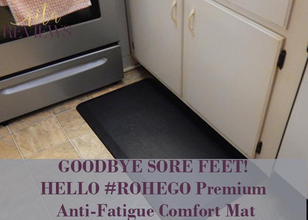 #ROHEGO Premium Anti-Fatigue Comfort Mat