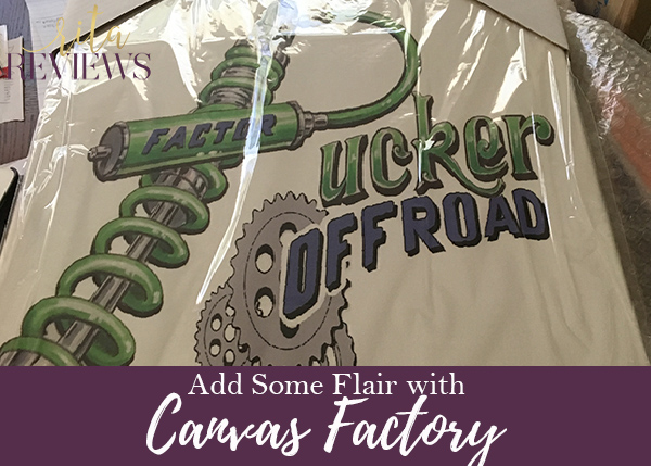 Canvas Factory Added a Touch of Flair!