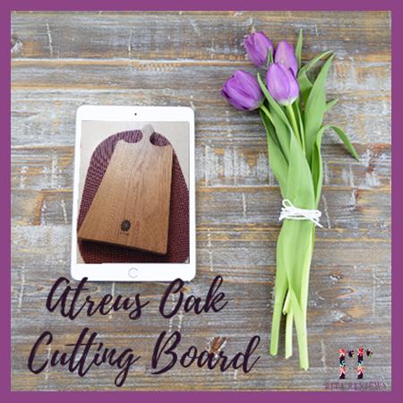 Atreus Oak Cutting Board: Chop with Style