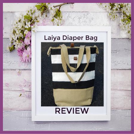 Laiya Deluxe Fashion Diaper Bag Shoulder Tote