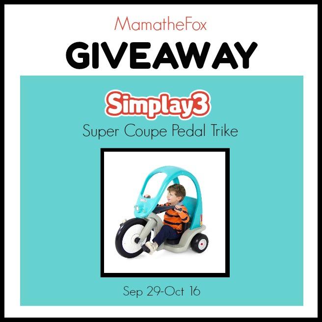 Simplay3 Trike Giveaway