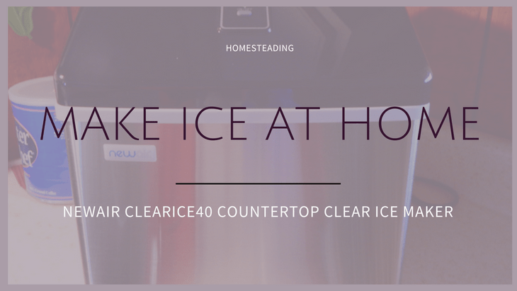 NewAir ClearIce40 Countertop Clear Ice Maker