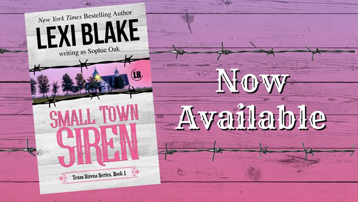 Book Review: Small Town Siren by Lexi Blake