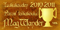 Voittaja: MagWander!