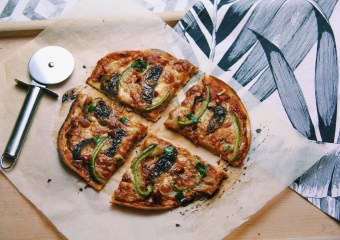 VEGANE LOWCARB PIZZA