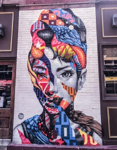 ritaschweigli, new york, audrey hepburn, soho, little italy