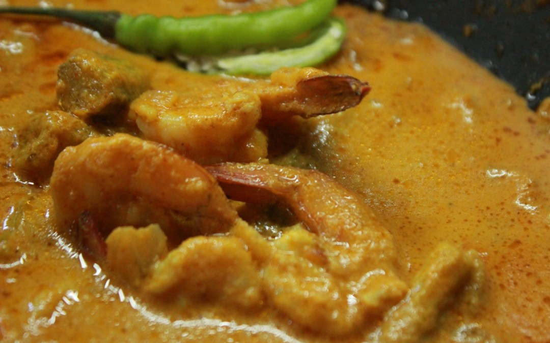Goan Prawn Curry with Drumsticks