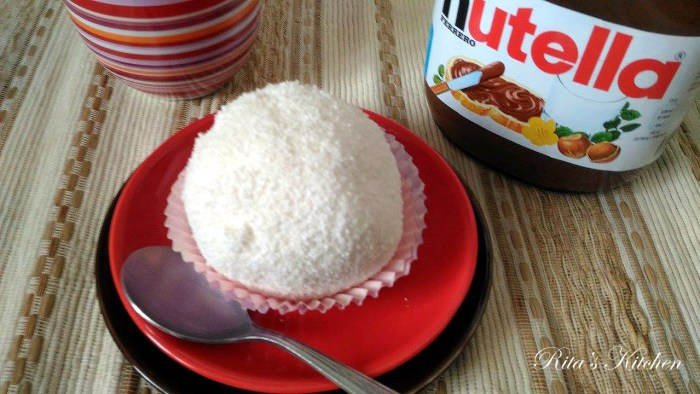 tartufo al cocco