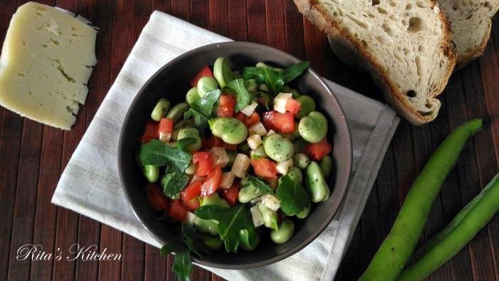 insalata di fave