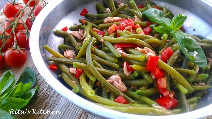 insalata di fagiolini