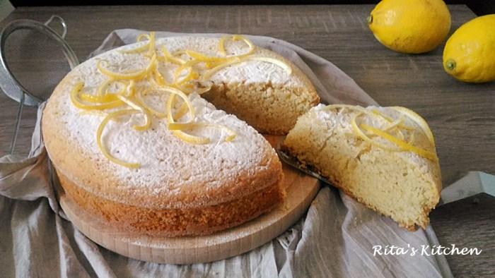 Torta Al Limone E Mandorle Senza Glutine E Latte Ritas Kitchen