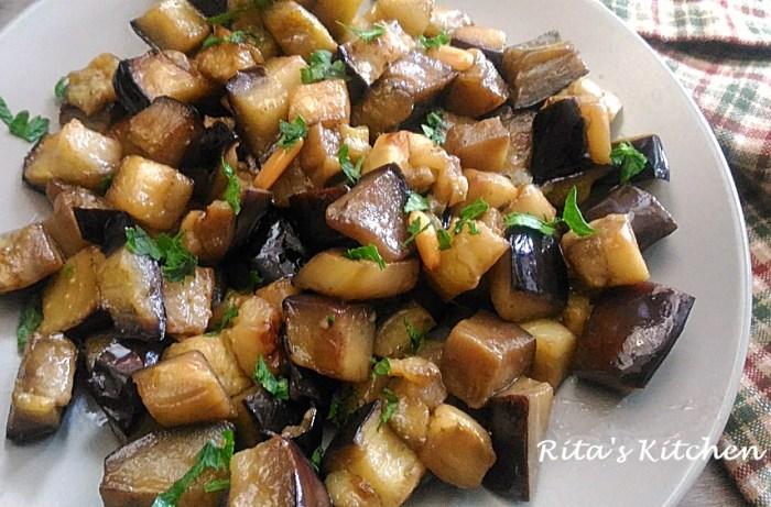 Ricetta Melanzane In Agrodolce.Melanzane In Agrodolce Rita S Kitchen