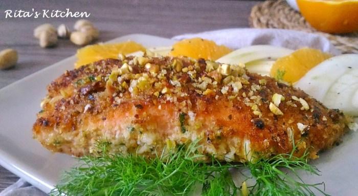 filetto di salmone croccante