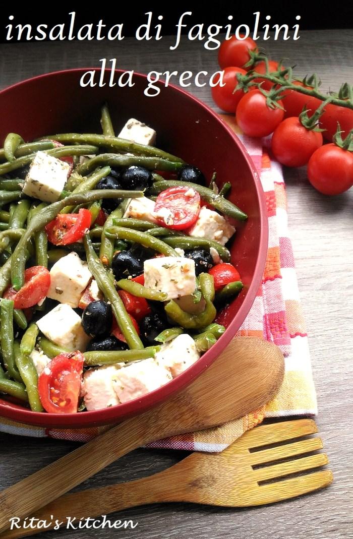 insalata di fagiolini alla greca