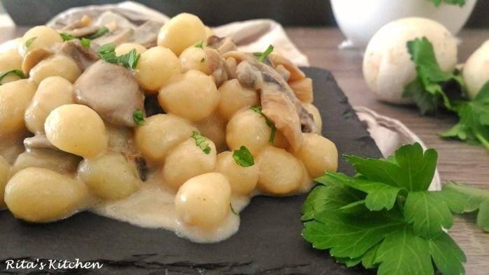 gnocchi ai funghi