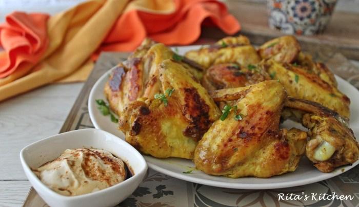 alette di pollo al curry