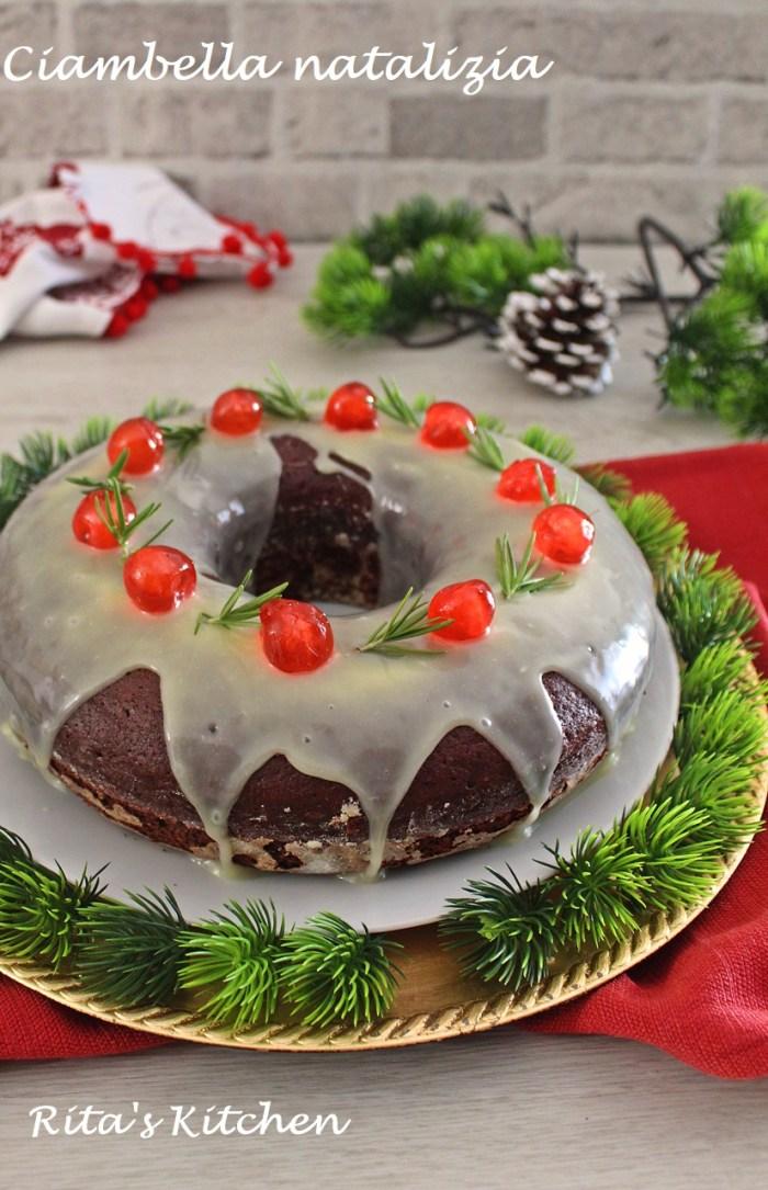 ciambella natalizia