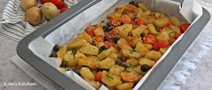 patata gratinate alla puttanesca