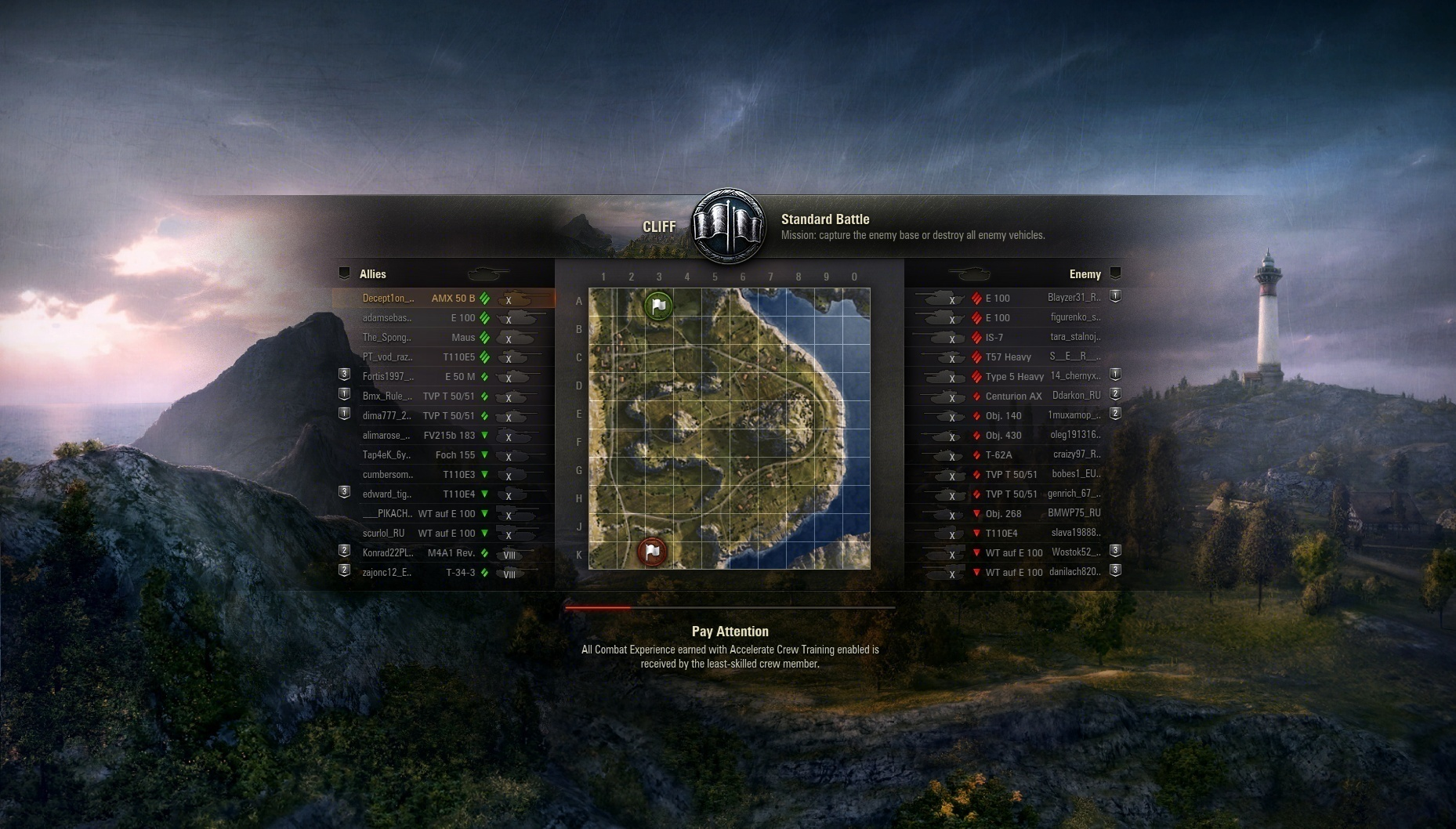 Loading screen with map