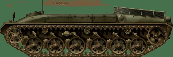 panzer-74-hull
