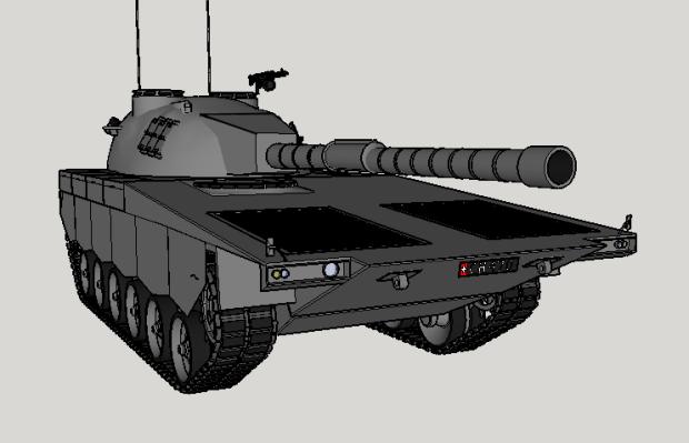 Panzer 68 lamborghini