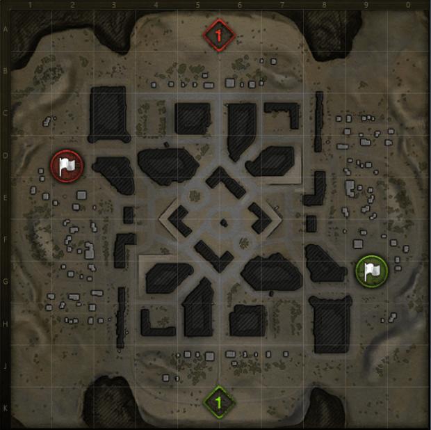 Lost City Mini map