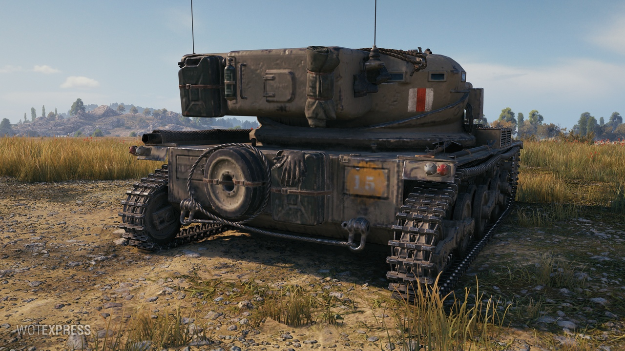 WoT Supertest: Manticore Tier X British LT « Status Report