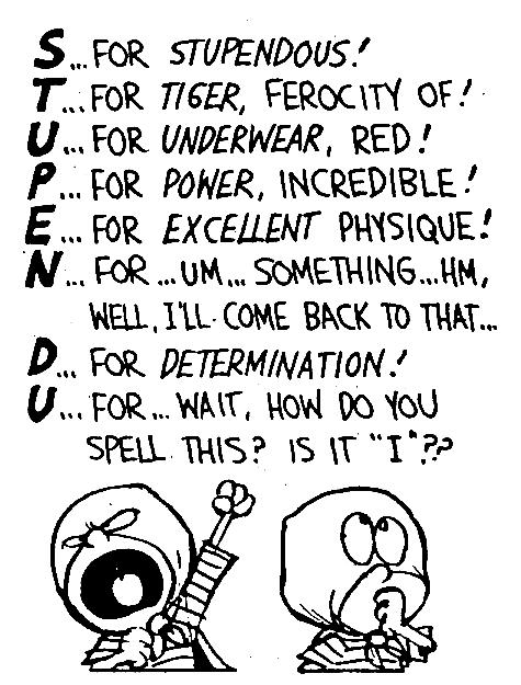 Recurring Motifs in Calvin & Hobbes