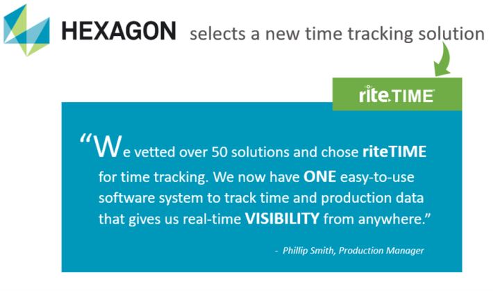riteTIME time tracking testimony