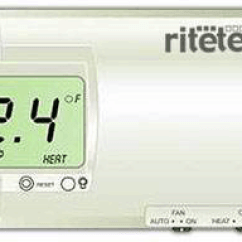 Ritetemp 8022 Thermostat Wiring Diagram Baldor 12 Lead Motor The Support Site 8029 Technical Page Model