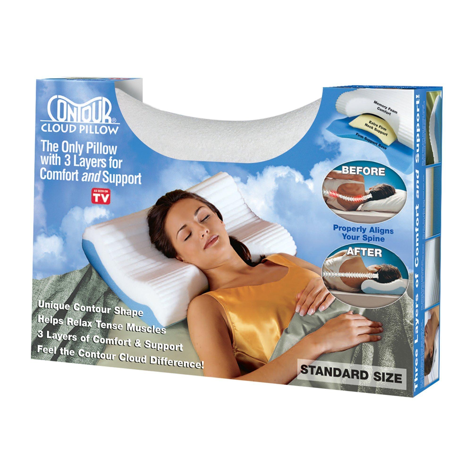 contour cervical cloud pillow