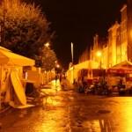 Danziger Straße bei Nacht