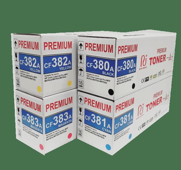 Hp premium 312A compatible toner cartridge