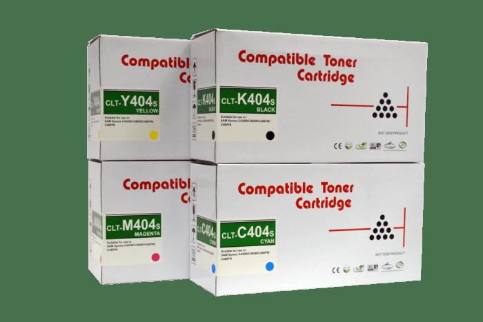 Rite Image Samsung CLT-404s Premium Compatible Toner cartridge/ Samsung CLT-K404s/ Samsung CLT-C404s/ Samsung CLT-Y404s/ Samsung CLT-M404s