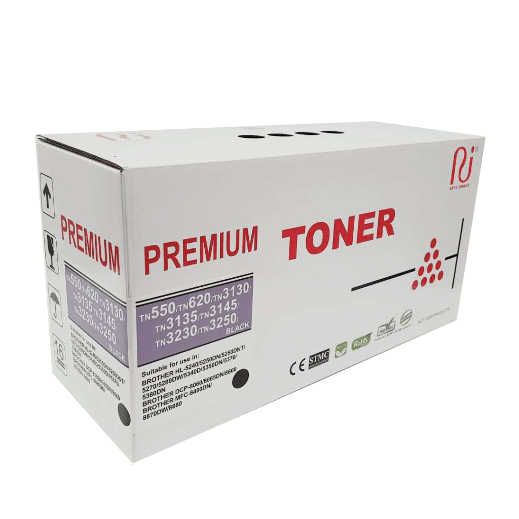 Brother premium TN550 compatible toner cartridge