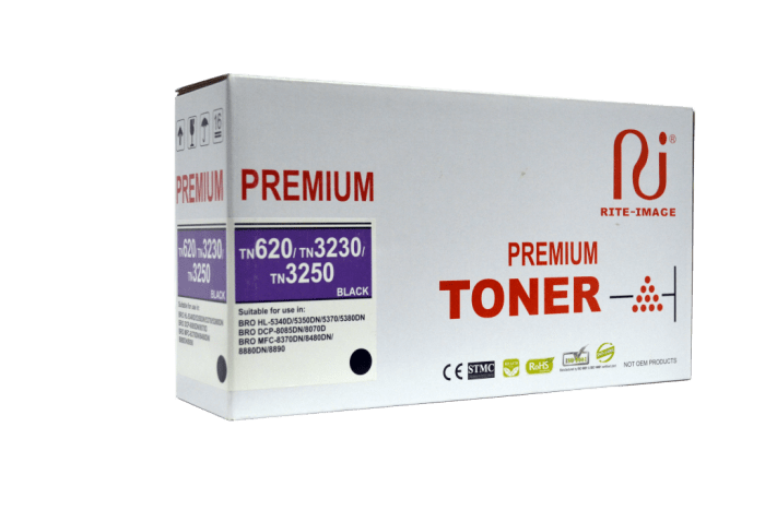 Rite Image Brother Tn620/ Brother TN3230/ Brother TN3250 Premium Compatible Toner Cartridge