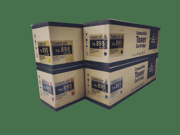 Kyocera mita TK 895 compatible toner cartridge