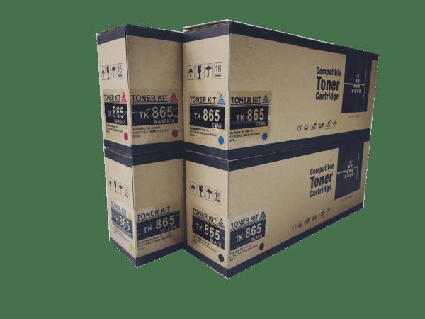 Kyocera Mita TK865 compatible toner cartridge