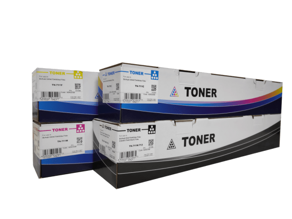Konica Minolta TN711 compatible toner cartridge