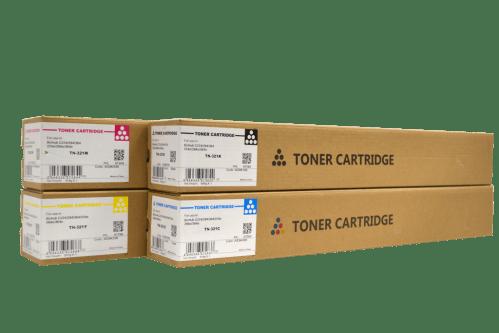CET Konica Minolta TN321 compatible toner cartridge